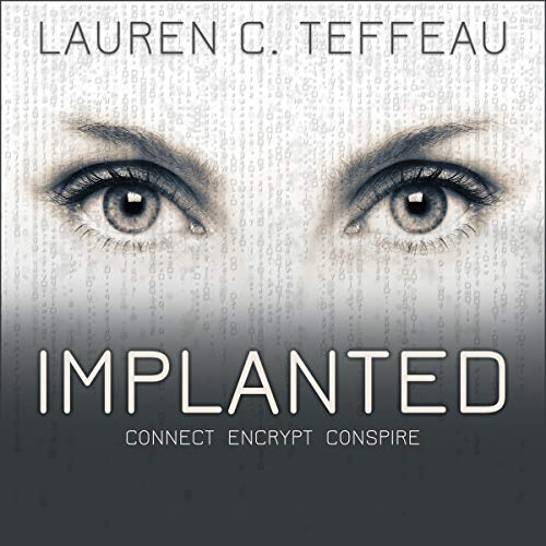 Implanted audiobook cover art