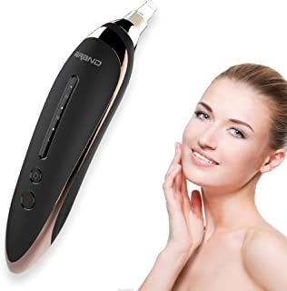 Blackhead Remover Vacuum Pore Cleaner - 2019 Upgraded USB Rechargeable Acne Comedone Extractor Tool Exfoliating Machine with 3 Adjustable Suction Power and 4 Replacement Probes (black)