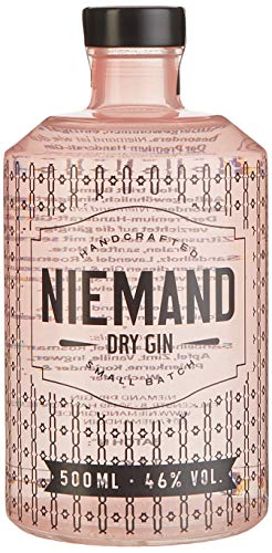 Niemand Small Batch Dry Gin (1 x 0.5 L)