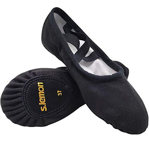 S.lemon Doble Capa Lona Zapatos Ballet Zapatillas