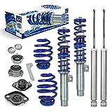 JOM Car Parts & Car Hifi GmbH 741015S Blueline Gewindefahrwerk mit Domlagersatz