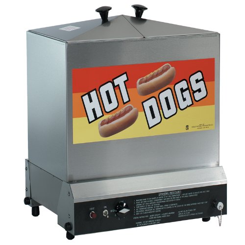 Gold Medal Products 8012 Super Steamin' Demon, 120 hot dog, 60 bun capacity