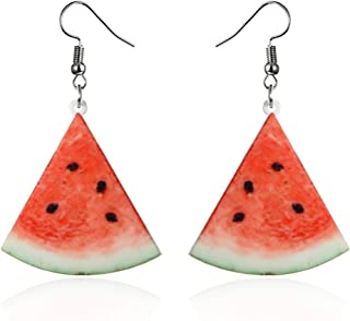 light and bright Watermelon Dangle Earrings
