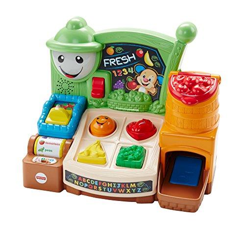 Fisher-Price Mattel FHC74 - Lernspaß Marktstand Spielzeug