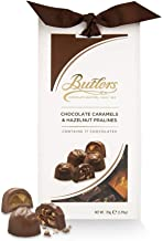 Butler's Irish Chocolates Caramels and Hazelnut Pralines Taper Gift Box-- 170g FROM IRELAND