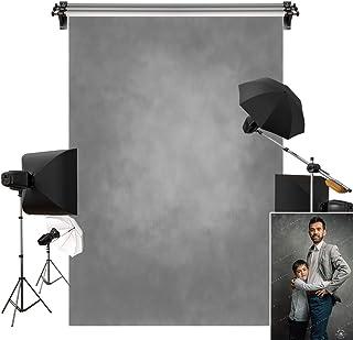 Kate 1,5 m (B) x 2,2 m (H), grauer Hintergrund, grauer Hintergrund, Portraitfotografie, Textur, Fotografie, Studio, Requisiten, Fotografen