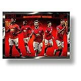Marco de acción 3D de edición limitada Manchester United