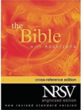 The New Revised Standard Version Cross Reference Edition with Apocrypha (Anglicized Text)