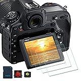 PCTC Nikon D7100 D7200 D850 D750 D500 Tempered Glass Screen Protector Film Foils Anti-scrach Anti-Fingerprint (3 Packs)