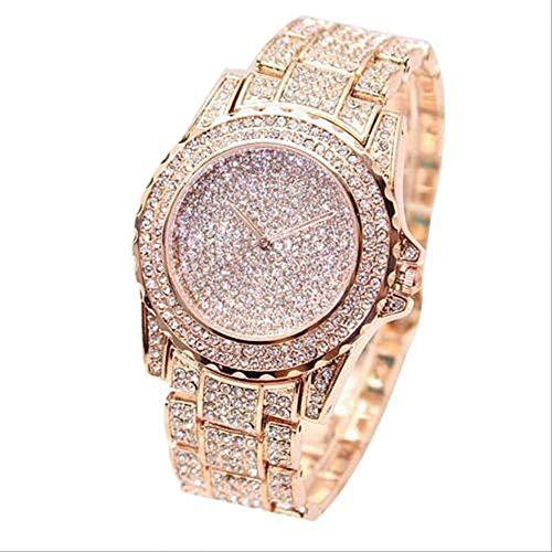 Mode Horloge Vrouwen Ronde Quartz Horloge Horloges Voor Vrouwen Glanzend Gouden Zilver Horloges Horloge Voor Dames Cadeau