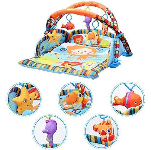Buena calidad PIEDO PIANO PIANO MÚSICA BEBÉ MÚSICA FITNESS JUEGO JUEGO JUEGO PEDAL PEDAL AYUDA DESARROLLAR EL AGRÍO DEL BÉCHO for que el bebé pueda desarrollarse mejor adecuado for bebés de más de 0 a
