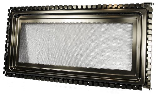 LG Electronics 3213W0A003D Microwave Oven Door Frame Assembly, Black
