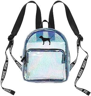 victoria secret pink clear backpack