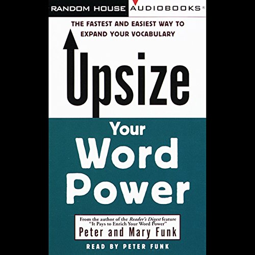 Upsize Your Word Power audiobook cover art