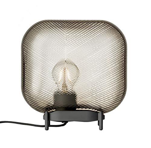 Iittala Virva tafellamp, glas, bruin, 25 cm