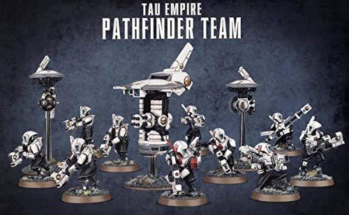 Games Workshop Tau Empire Pathfinder Team Figuras de Rastreadores Miniaturas Citade (99120113061)