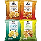 Quaker Rice Crisps, Gluten Free, 4 Flavor Sweet and Savory Variety Mix, Single Serve 0.67oz, 30 count