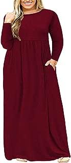 Best plus size winter maxi dresses Reviews
