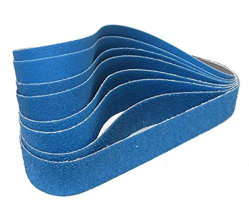 Klingspor CS 411 X Schleifband   30 x 533 mm   8-teiliges Premium-Set   Je zwei Bänder der Körnungen 40,60,80 und 120