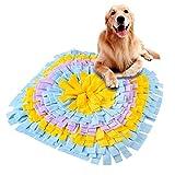 Furpaw Tappeto Olfattivo Cane, Tappetino Interattivi Giochi per Cani per Foraggiamento Abilità per Addestramento – Colorato