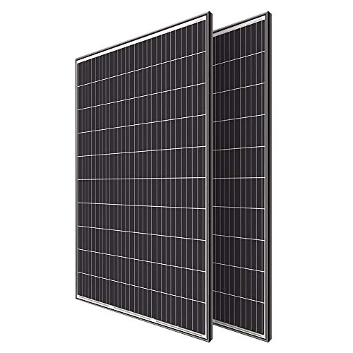 Renogy 6pcs 320W Solar Panel System Kit Off Grid RV Boat Shed Farm Home Rooftop Residential Commercial House, 2pcs, 2 Pieces