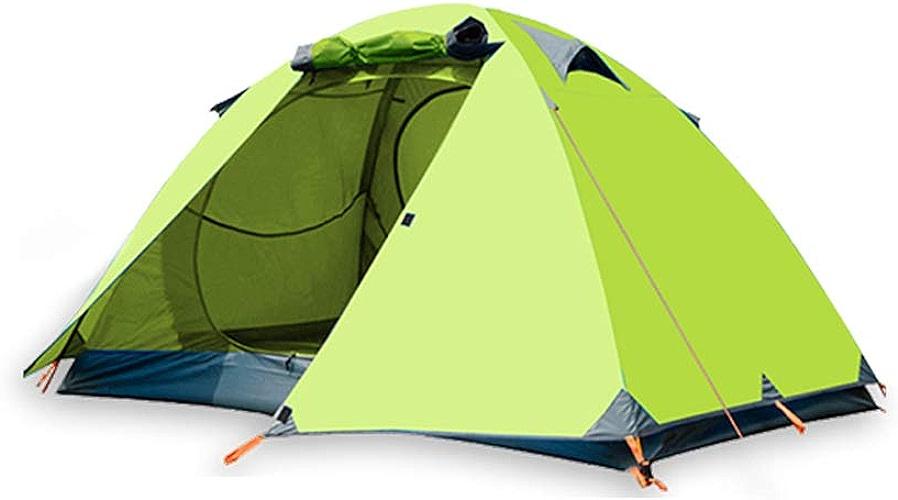 Outdoor Tent Field équipement de Camping 2 Personnes Double Couche Couple Tourisme Rainstorms Tentes