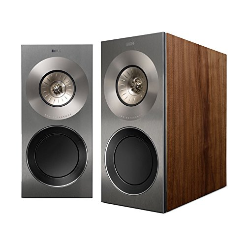 KEF REF1SW Reference 1 Bookshelf Loudspeaker - Satin Walnut (Pair)