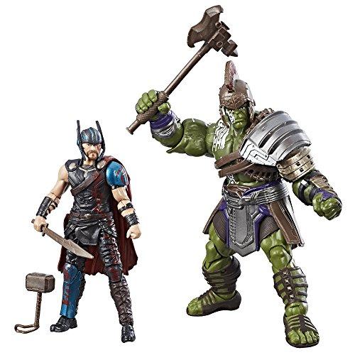 Marvel legends thor: ragnarok 3. 75-inch thor & hulk 2-pack