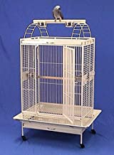 4 Colors, Large Parrot Bird Cage Perfect for African Greys, Cockatiels, Mini Macaws, Parakeet, Cockatoos - 32