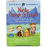 Best Fish Oil For Kids - Nordic Naturals - Nordic Omega-3 Fishies, Supports Optimal Review