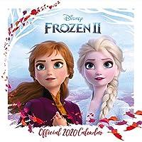 Disney Frozen 2 2020 Calendar - Official Square Wall Format Calendar