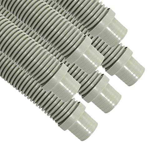 Puri Tech Universal Swimming Pool Cleaner Durable Hose 48 Long Grey Color 6 Pack Universal Fit Including Hayward Navigator, Pool...