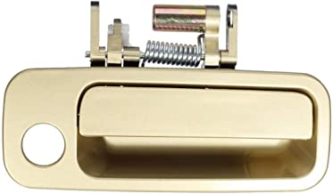 Eynpire 8083 Exterior Outside Outer Front Right Passenger Side Beige/Gold Door Handle For 1997 1998 1999 2000 2001 Toyota Camry