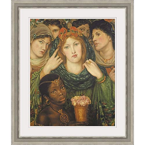 GREATBIGCANVAS The Beloved, 1865-66' Silver Framed Wall Art Print, 16'x20'x1.25'