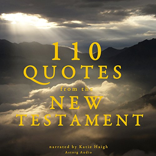 110 Quotes from the New Testament cover art