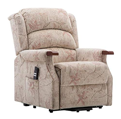 Dual motor riser recliner chair (fabric)