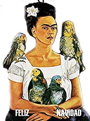 frida kahlo art style gifts ~ Christmas ornament