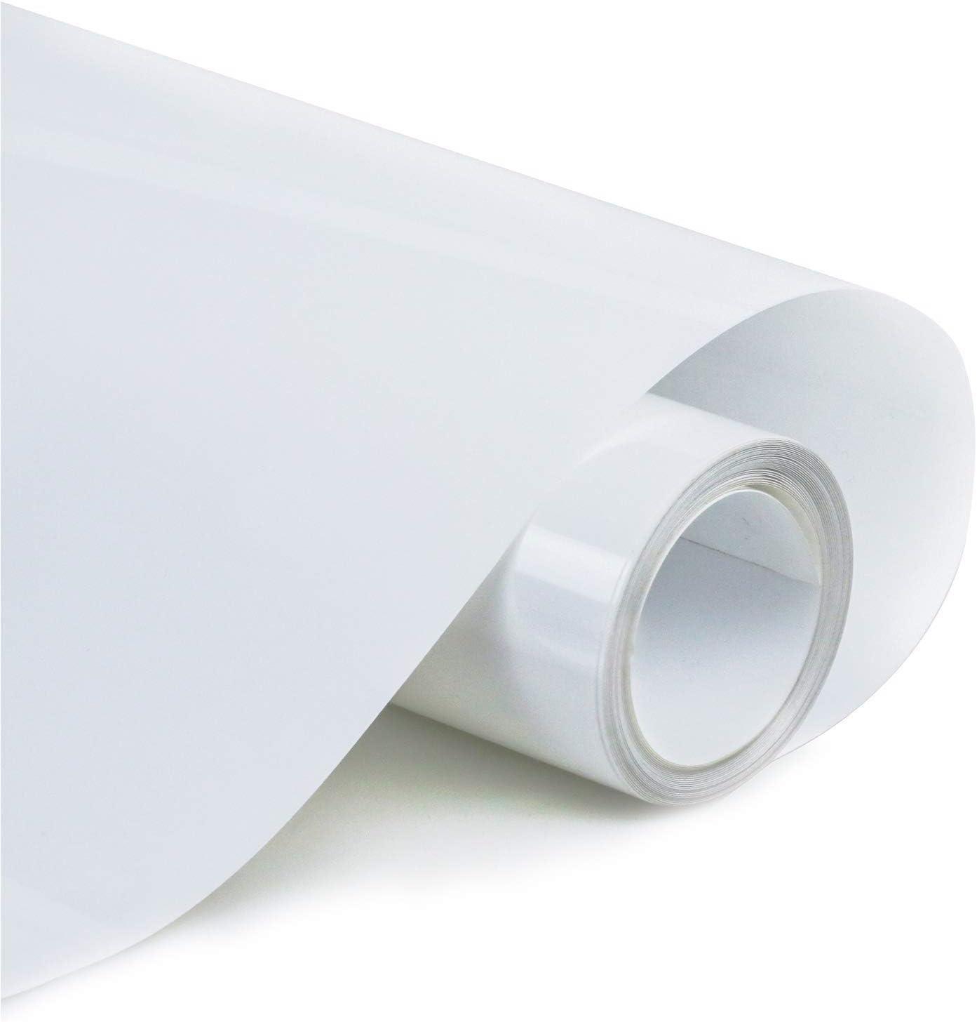 Whaline Heat Transfer Vinyl Roll 12In x 10FT Gold Heat Transfer Paper Permanen