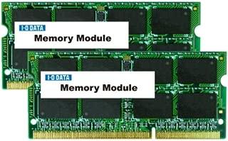 アイ・オー・データ機器 PC3-10600(DDR3-1333)対応 204ピン S.O.DIMM 4GB×2枚組 SDY1333-4GX2
