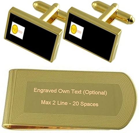 Royal Navy Max 43% OFF Insignia Rank Midshipman Cufflinks Cl Money Reservation Gold-tone