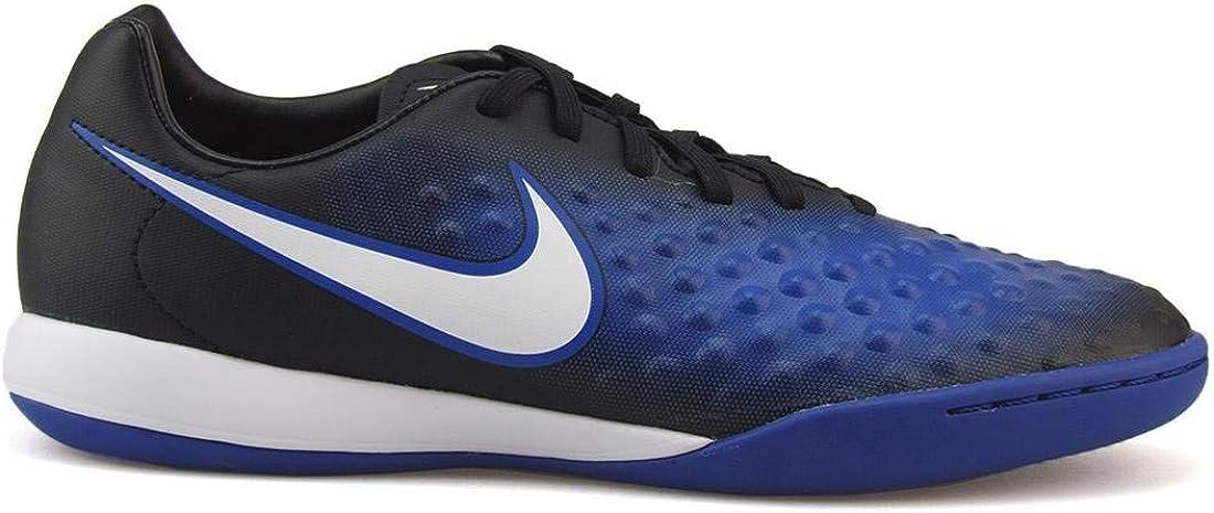 Nike Mens Magistax Onda II IC Black/White/Paramount Blue Soccer