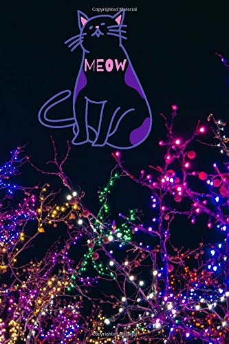MEOW: journal and Notebook for Girls - Composition Size (6