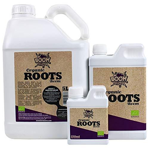 Boom Nutrients | Fertilizante/Estimulador orgánico de Raíces/Enraizante Potente Marihuana | Organic Roots (250 ml)