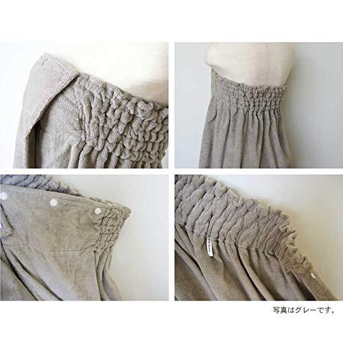 丸栄タオルideeZora(イデゾラ)『ナチュラルタイムパイルラップドレス』