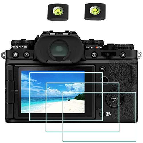 X-T4 Protector de Pantalla para Fujifilm X-T4 Fuji Film XT4 y Réflex Digitales ,ULBTER 0,3 mm Dureza 9H Vidrio Templado Antiarañazos Antihuellas Antiburbujas Antipolvo, 3 Unidades