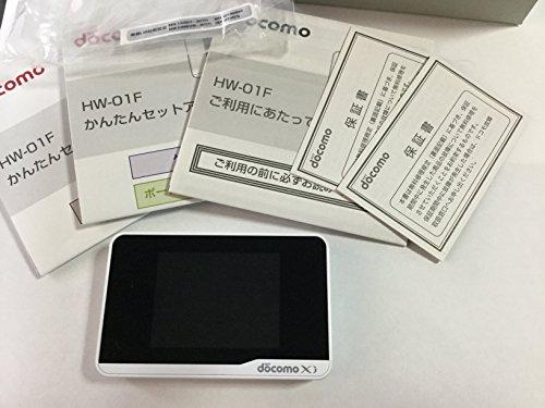 docomo HW-01F ホワイト Wi-Fi STATION 白ロム