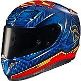 R16SMXS - Casco de motocicleta HJC RPHA 11 Superman DC XS Azul