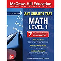 McGraw-Hill Education SAT Subject Test Math Level 1 Fifth Edition【洋書】 [並行輸入品]