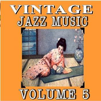 Vintage Jazz Music, Vol. 5