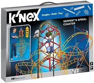 Best knex serpents spiral coaster Reviews